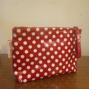 Quintessential UK🇬🇧 Polka Dot Make Up Bag